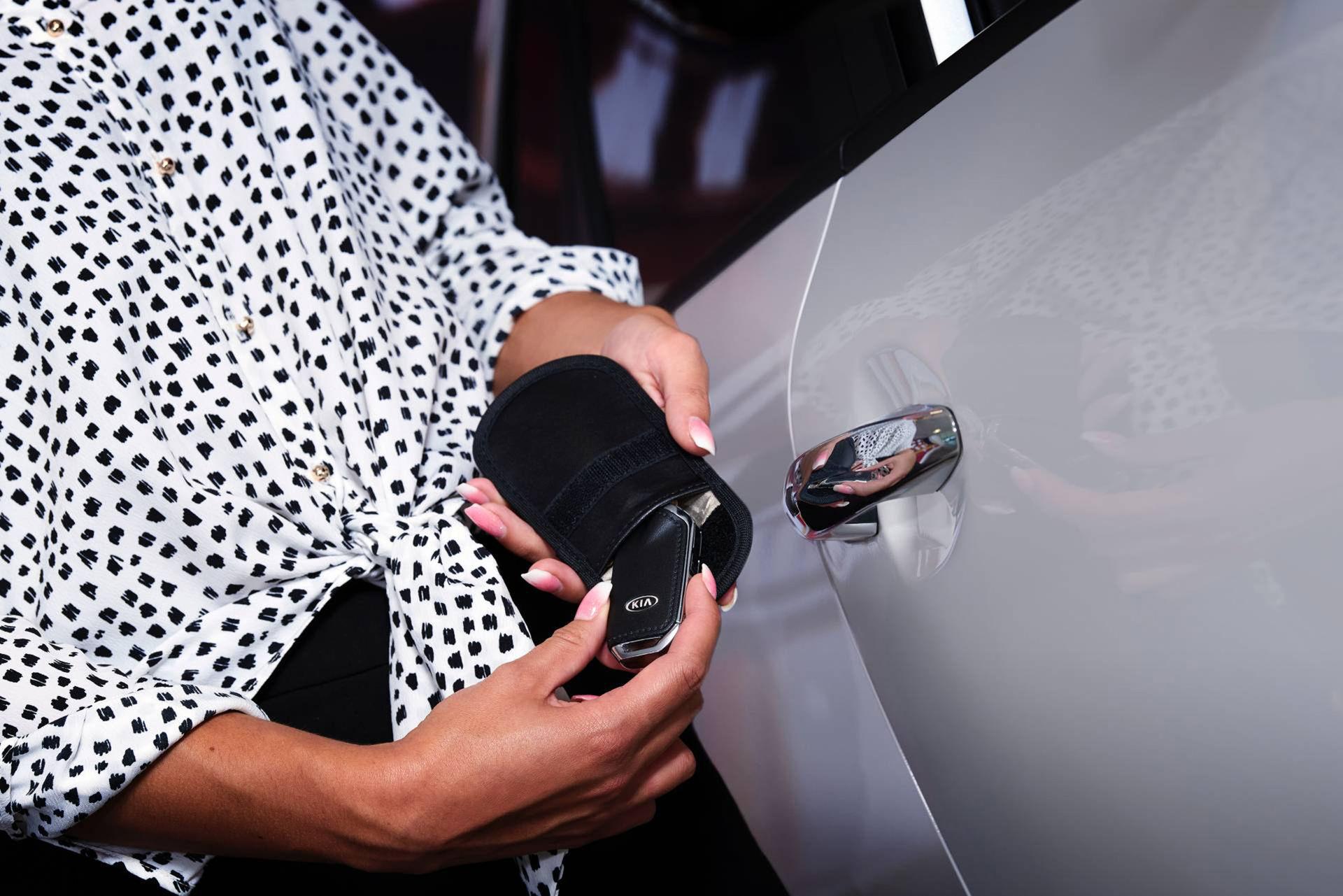 Kia släpper säker förvaring för bilnyckeln