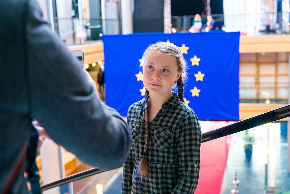 Greta Thunberg tackar OPEC