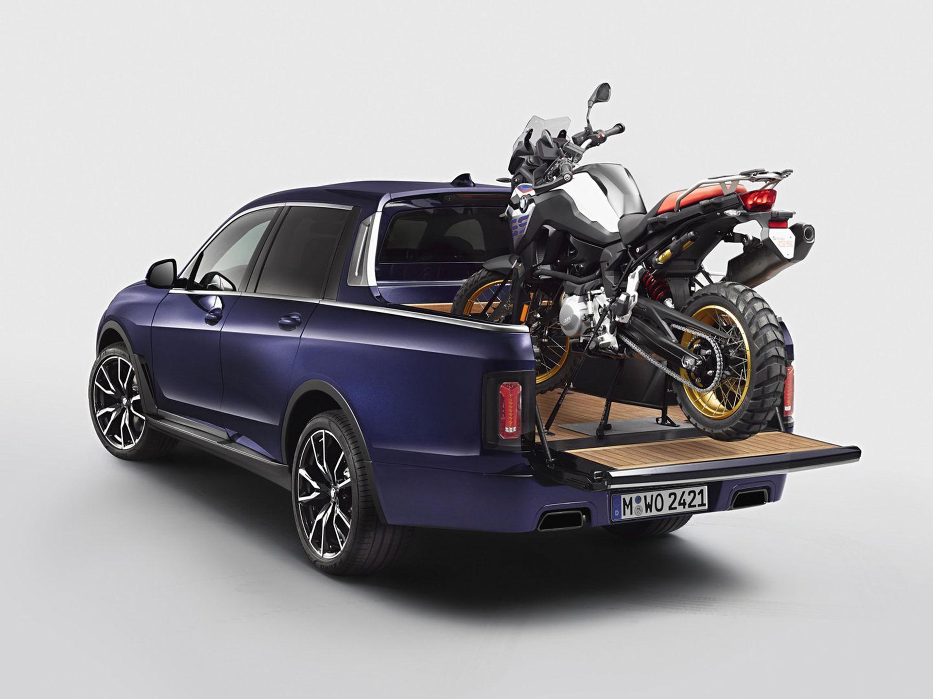 BMW har byggt en pickup av X7