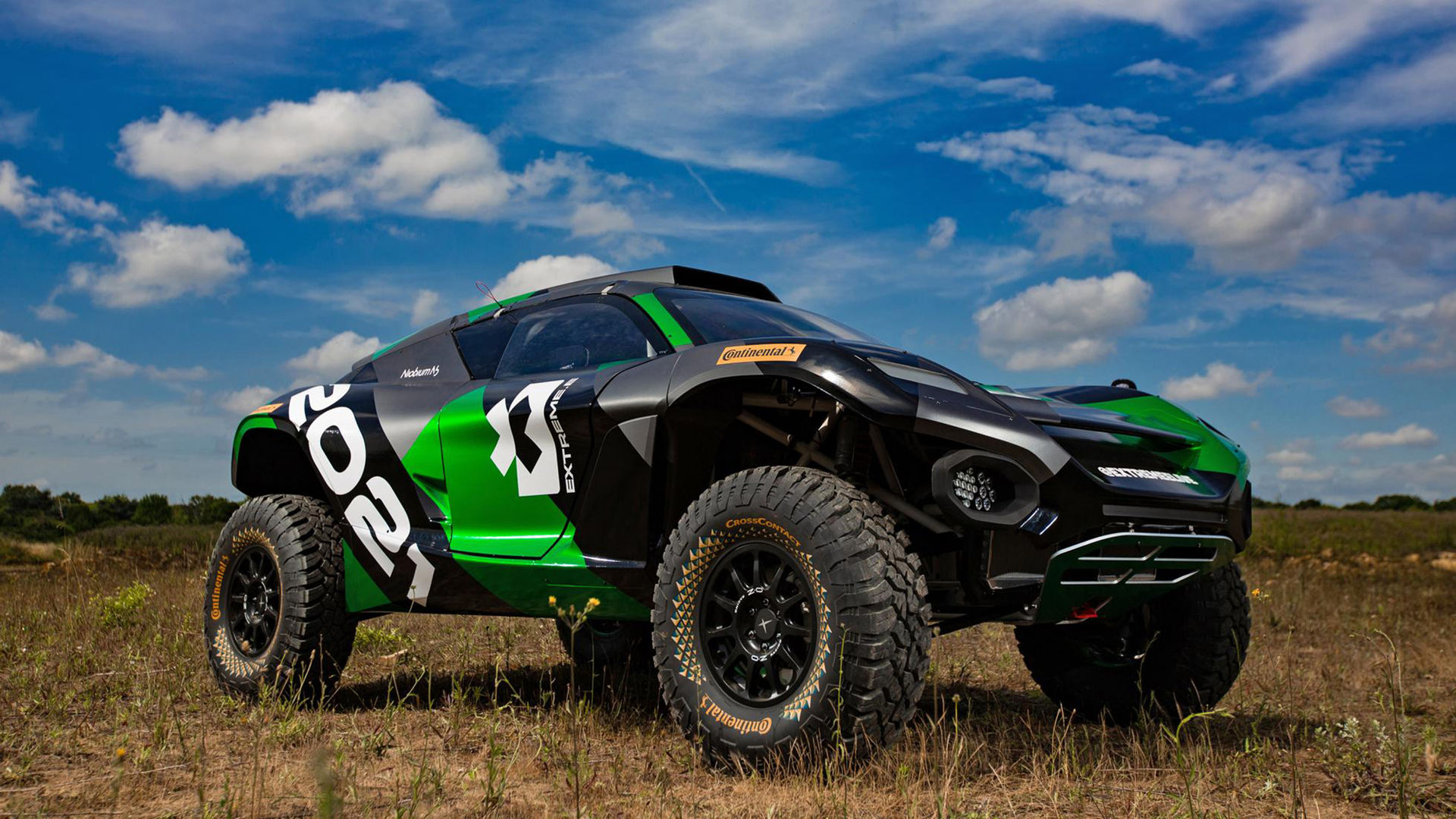 Bilen som kommer att användas i Extreme E