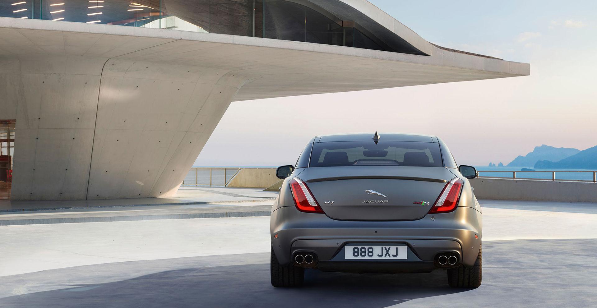 Ersättaren till Jaguar XJ blir eldriven