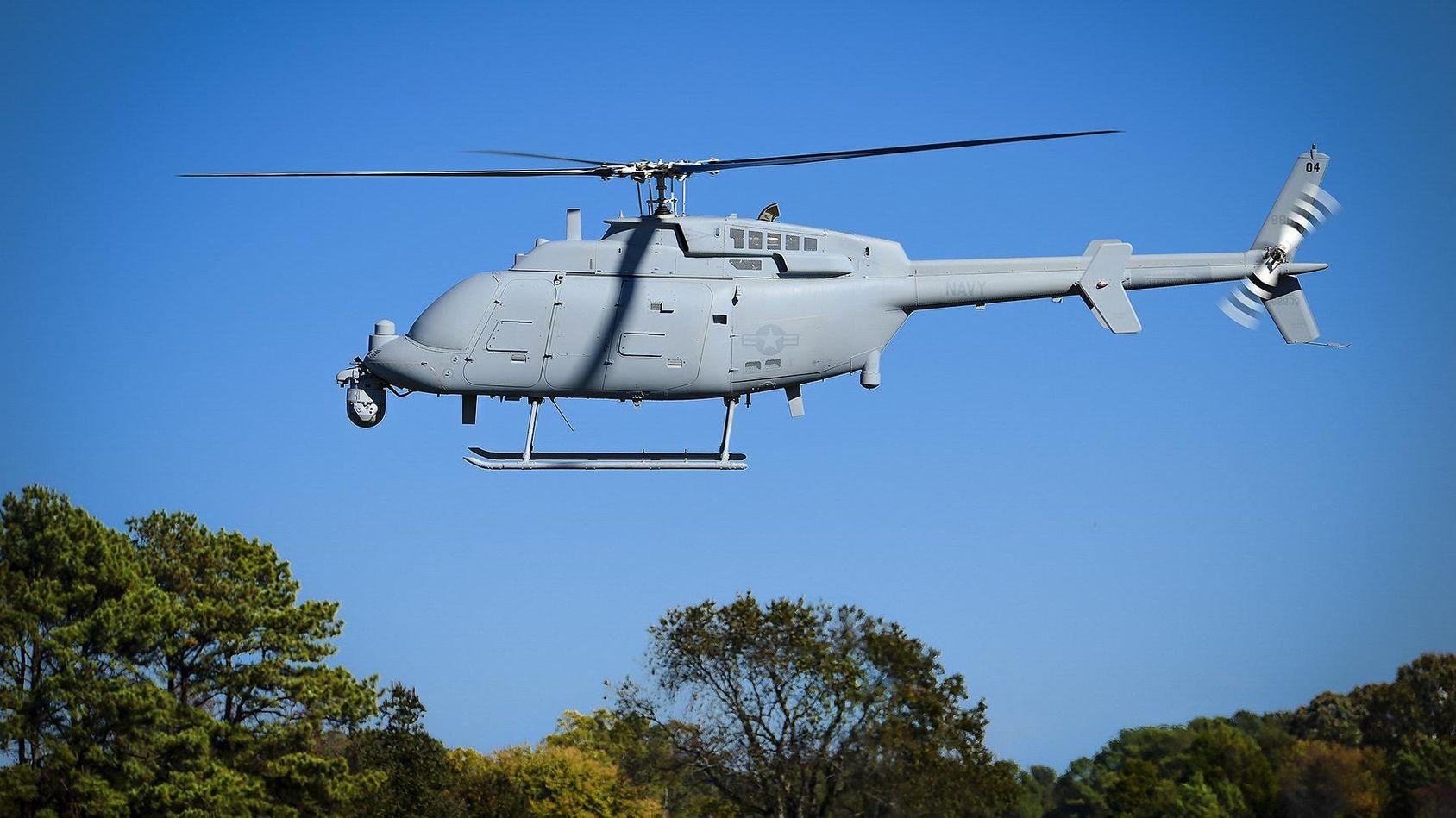 USA:s drönarhelikopter Fire Scout är nu redo att tas i bruk