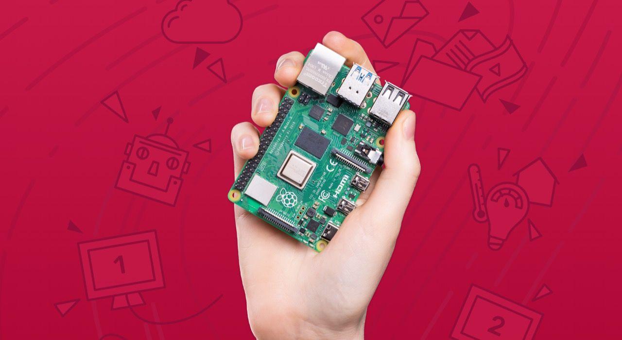 USB-C-kontakten i Raspberry Pi 4 feldesignad