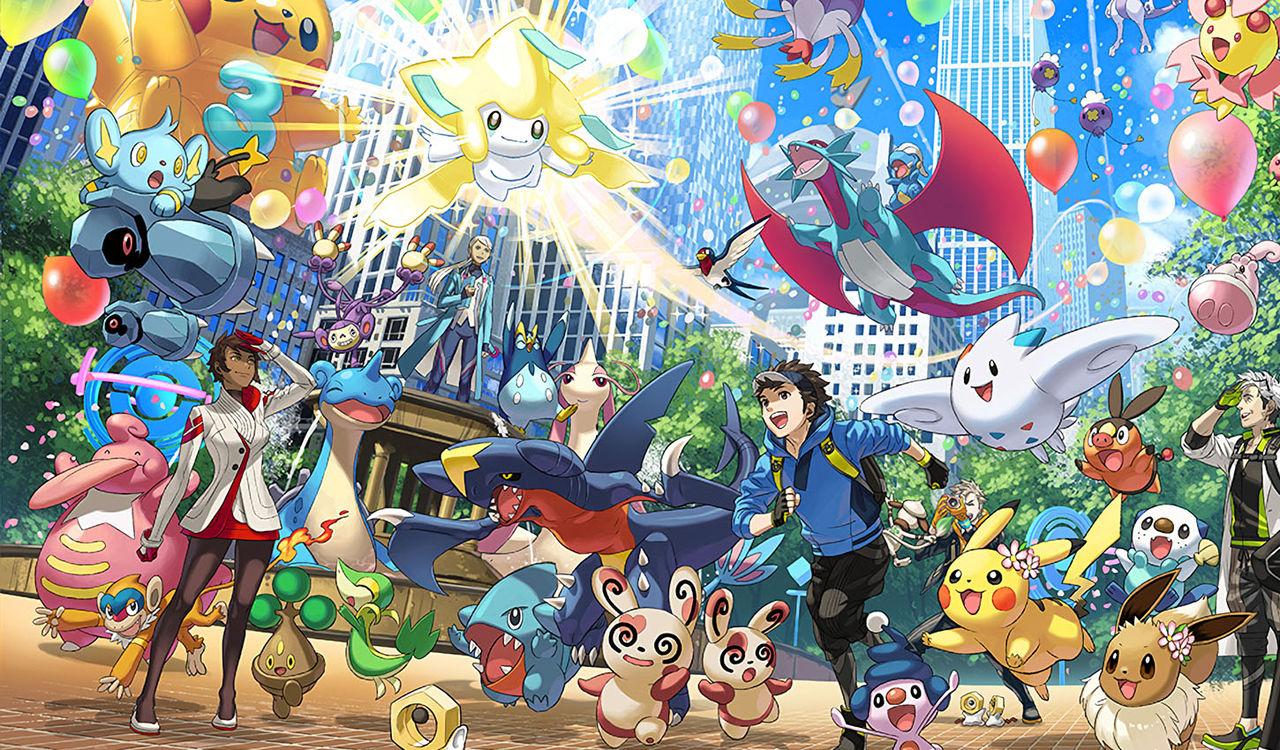 Tut i luren - Pokémon Go har fyllt tre år