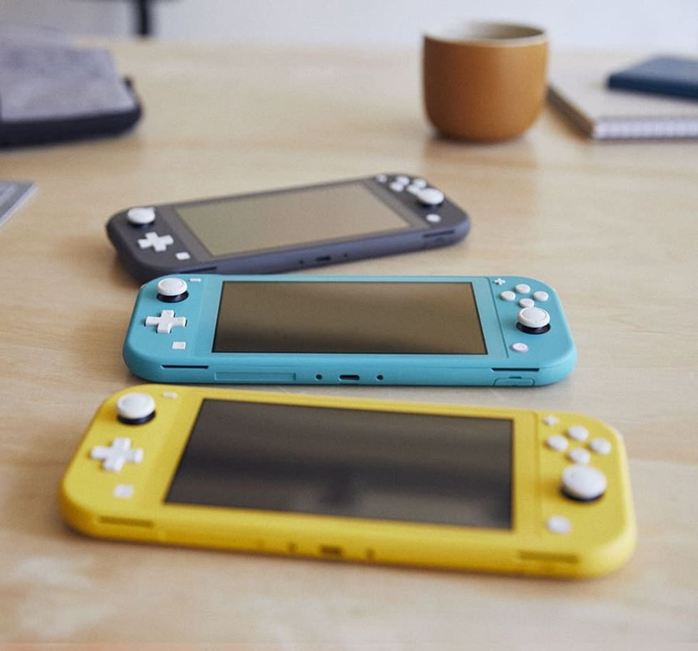 En första titt på Nintendo Switch Lite
