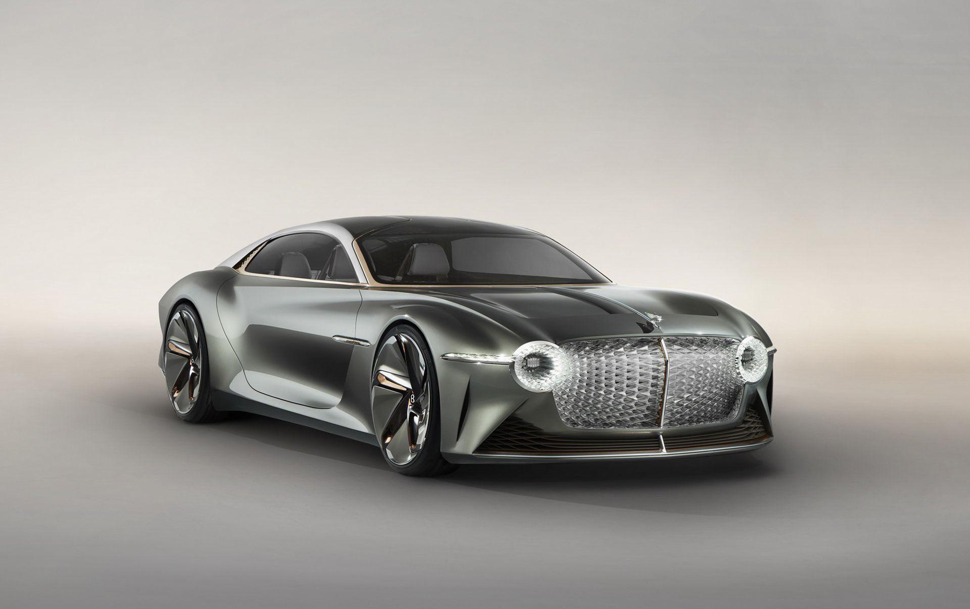 EXP 100 GT - Bentleys eldrivna framtid