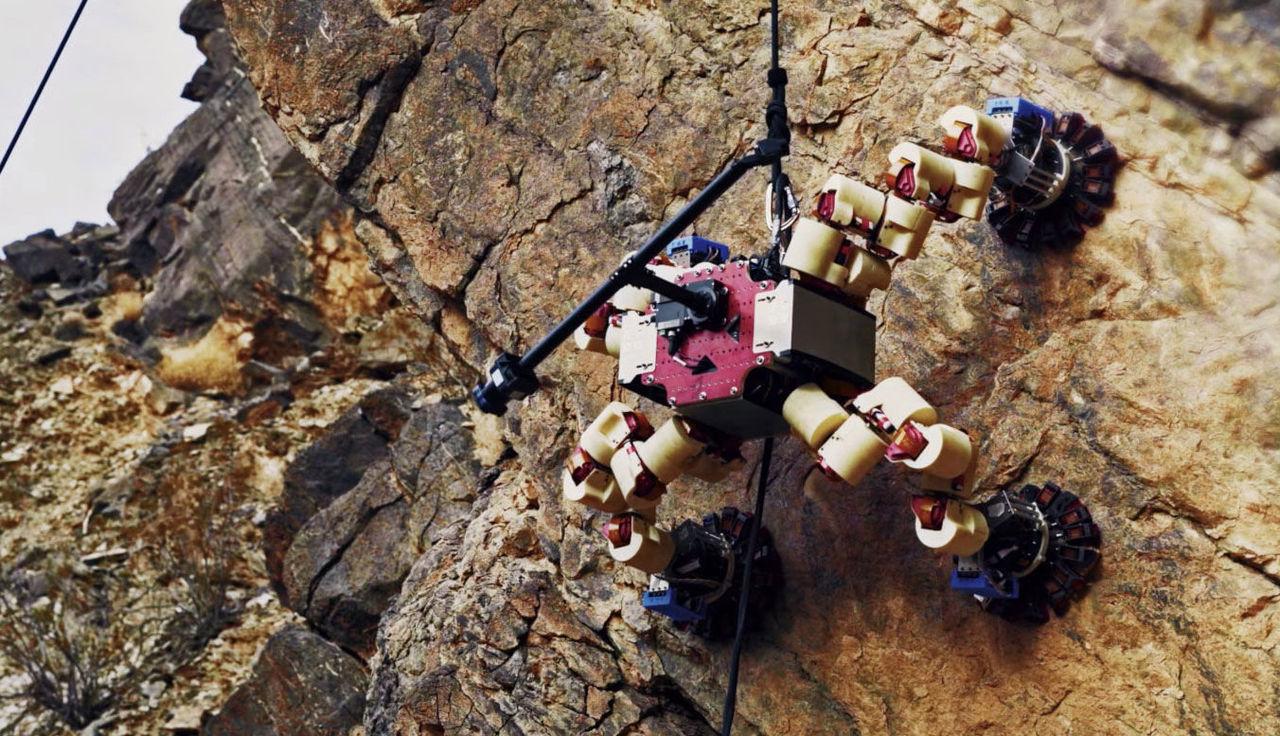 NASA:s LEMUR-robot har genomfört sitt sista test