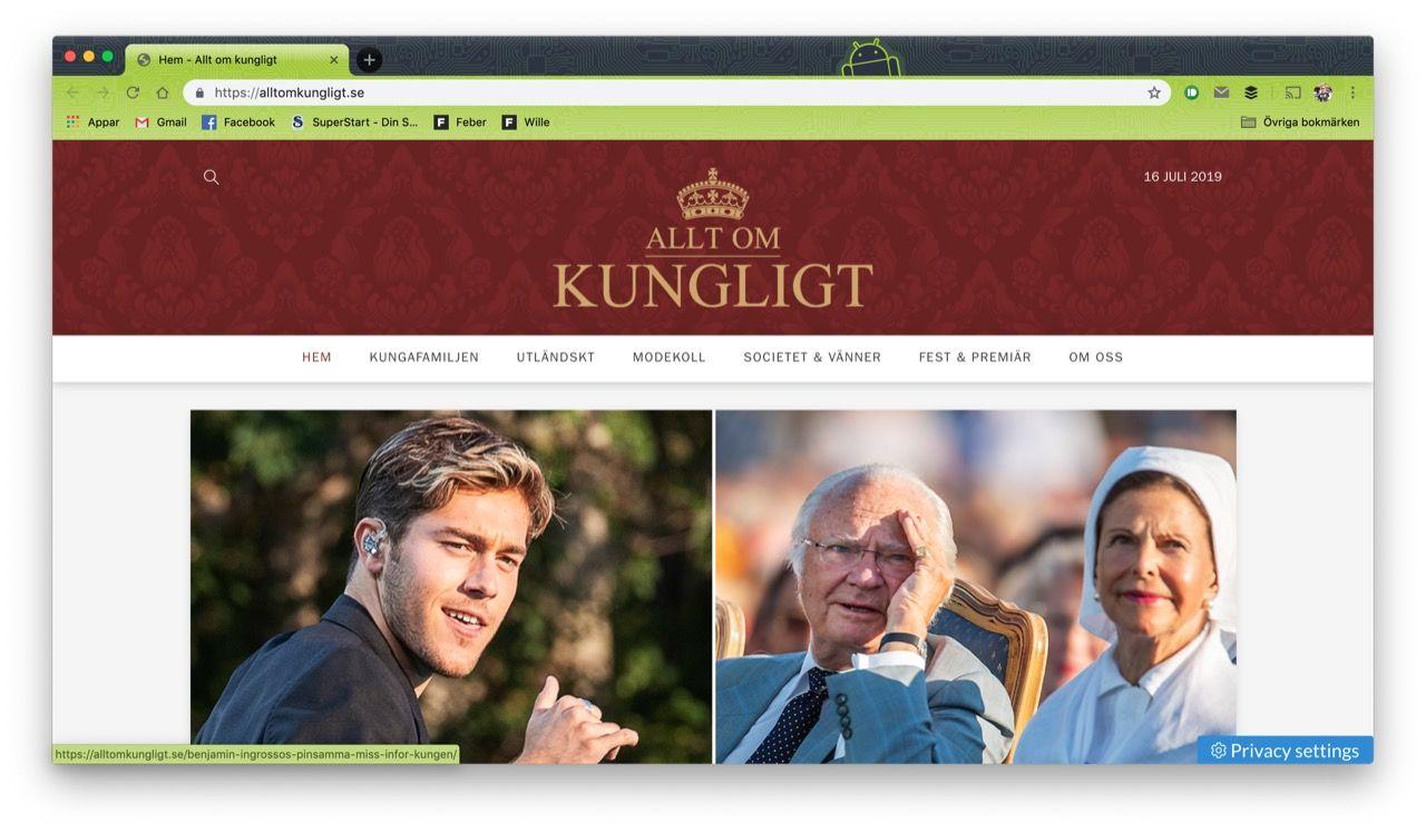 Nu lanseras Allt om Kungligt