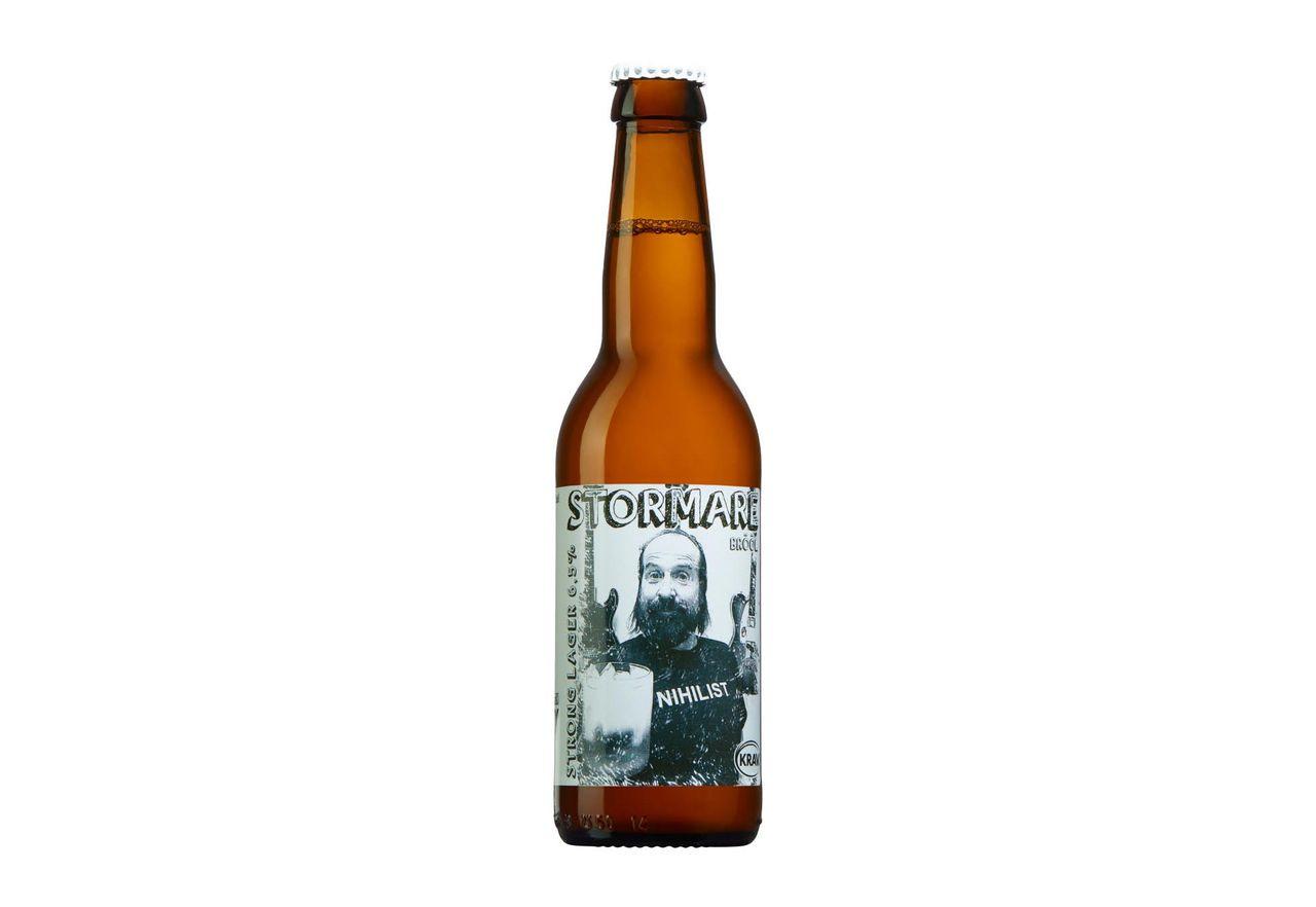 Stormares öl ska drickas med isbitar