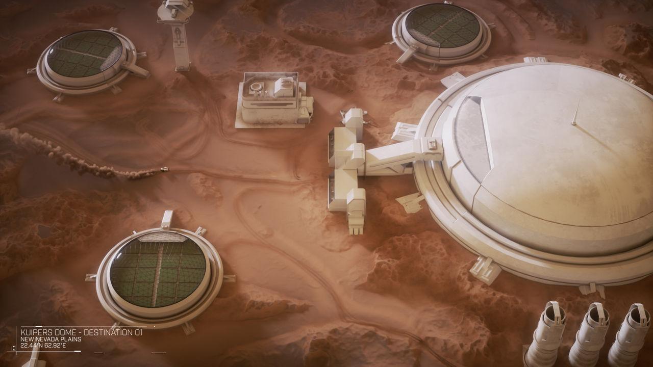 Aerogel skulle kunna användas till enorma växthus på Mars