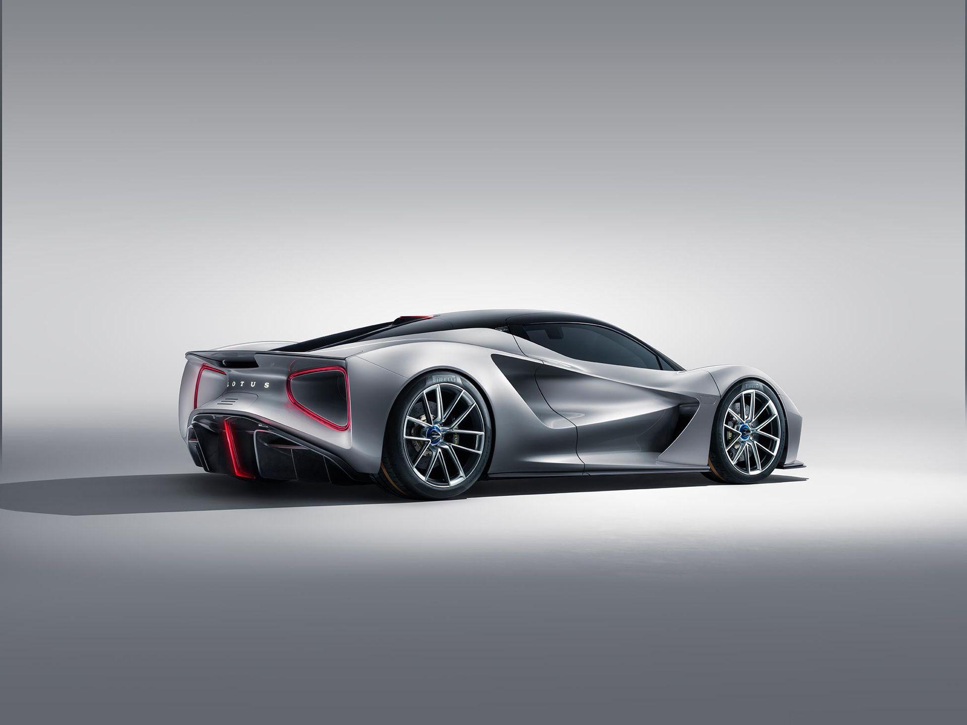 Lotus har visat upp sin hyperelbil med 2000 hästkrafter!