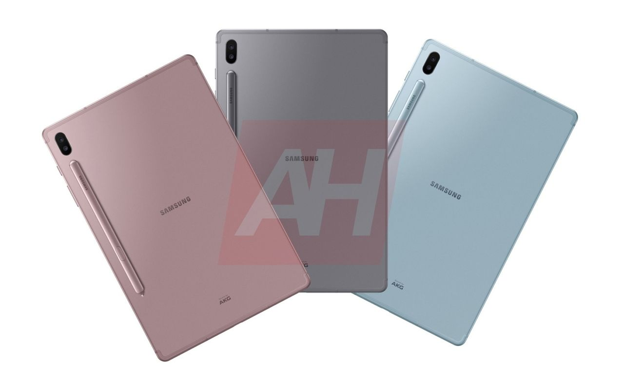Bildläcka hintar om pennförsedd Samsung Galaxy Tab S6