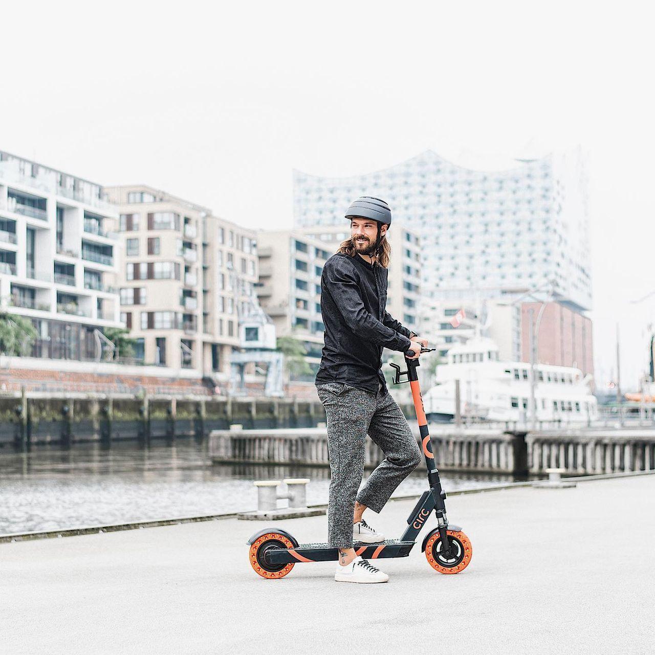 Elsparkcykel-tjänsten Circ lanseras i Malmö och Lund