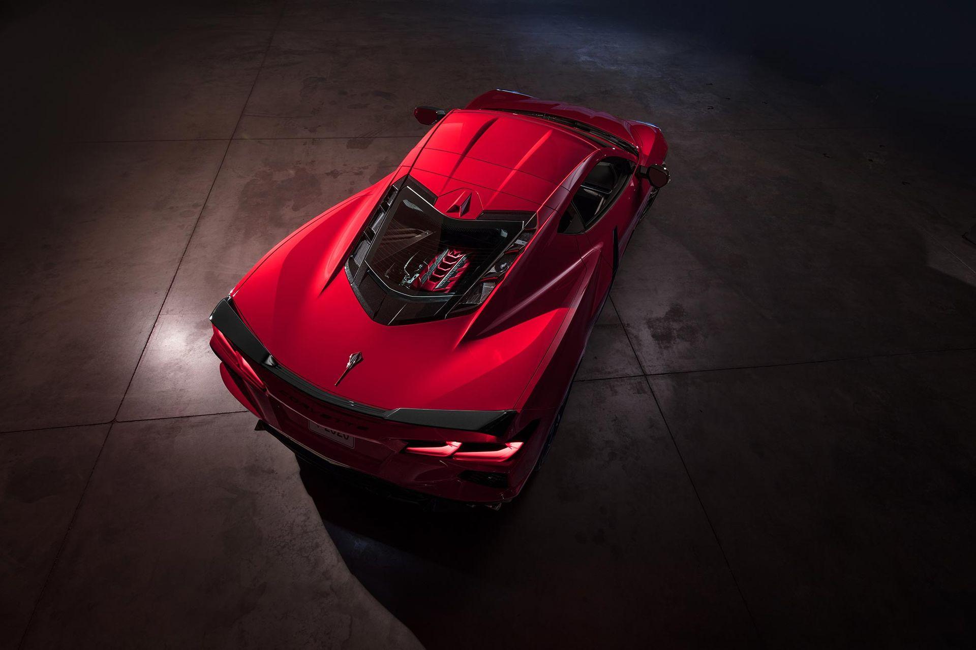 Här är nya Corvette C8!