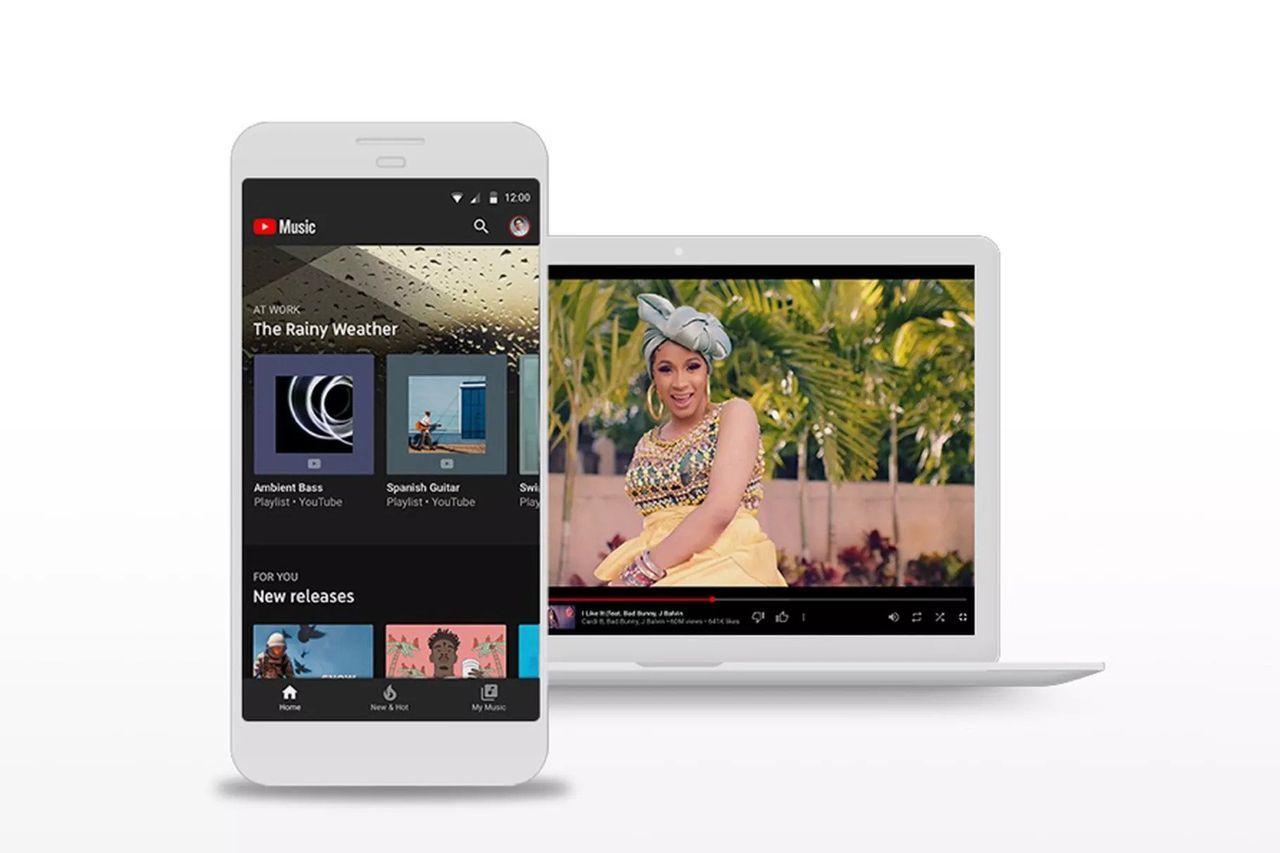 Nu är det busenkelt att skifta mellan ljud och video i Youtube Music