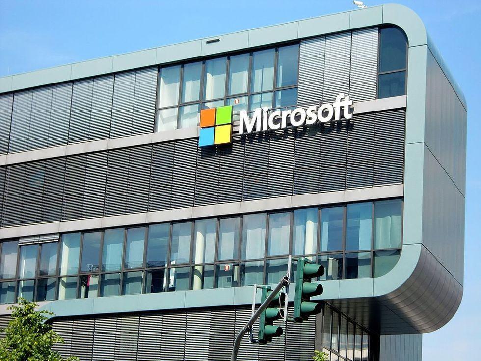 Microsoft går fortsatt som tåget