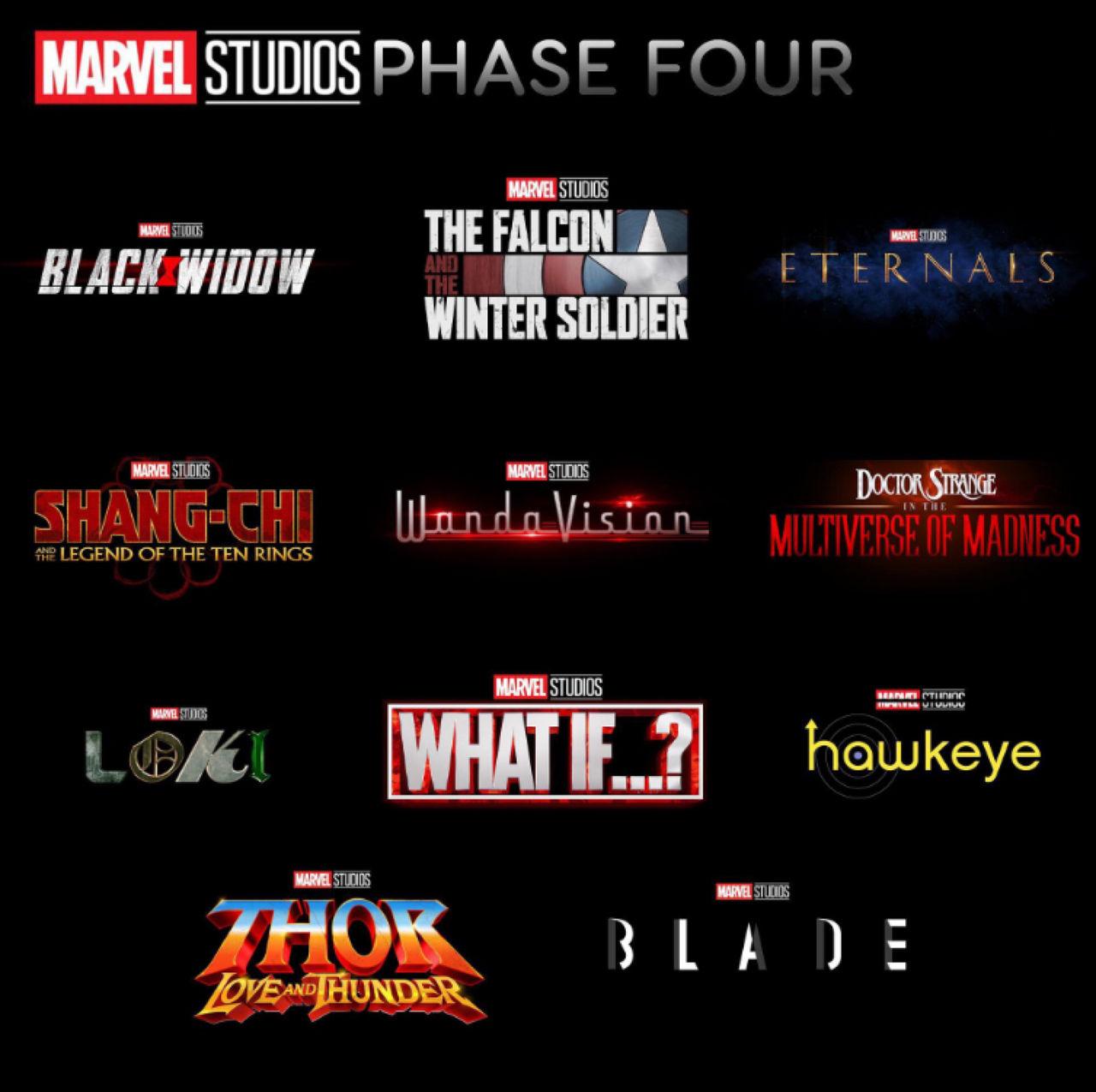 Det blir många Marvel-filmer de närmsta åren
