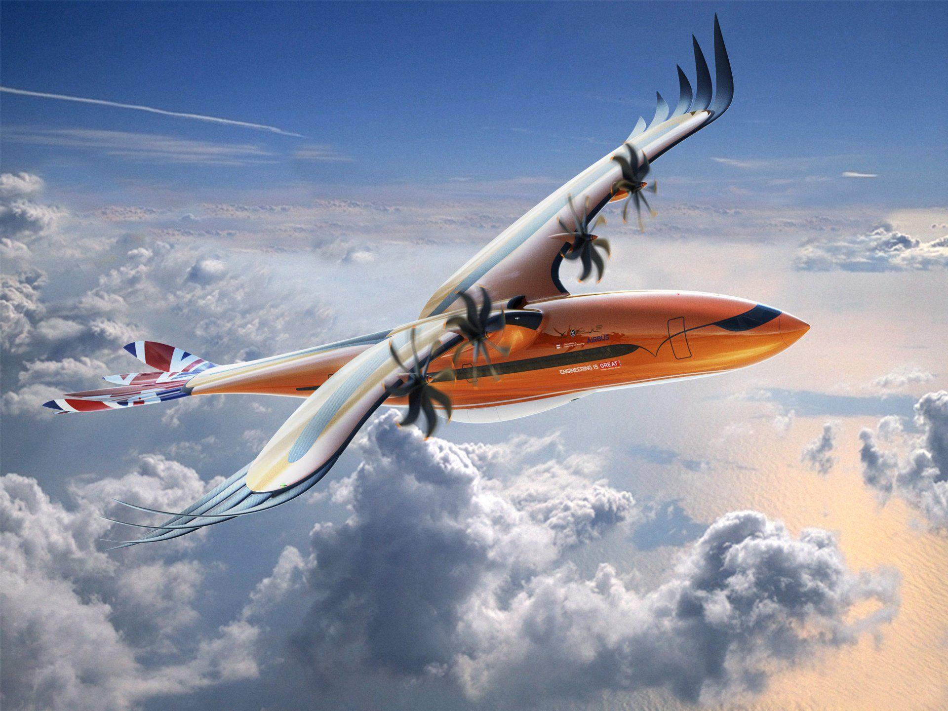 Airbus visar upp konceptet Bird of Prey