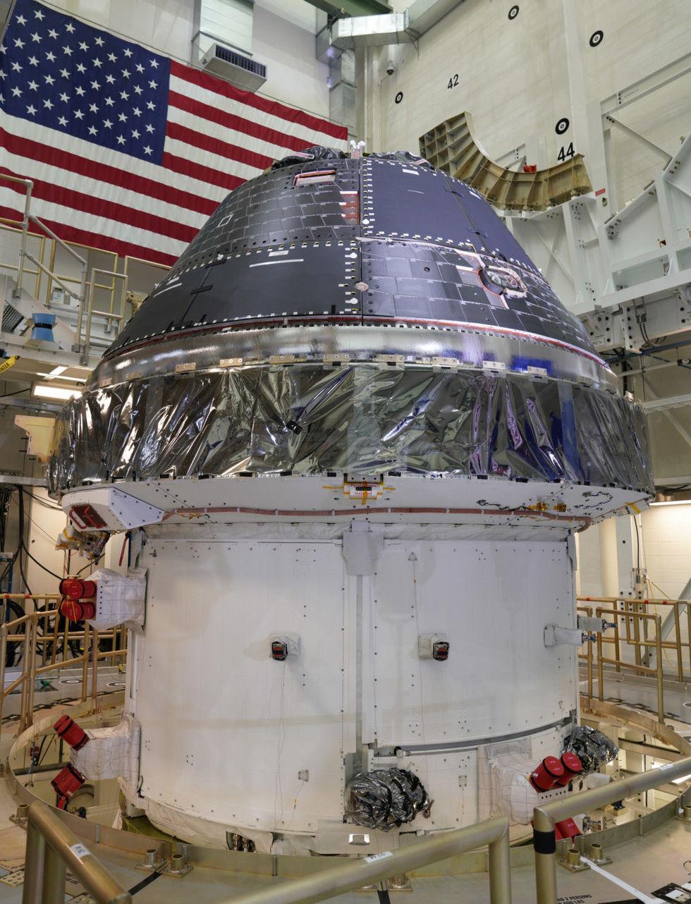Nu är Orion redo att åka till månen!