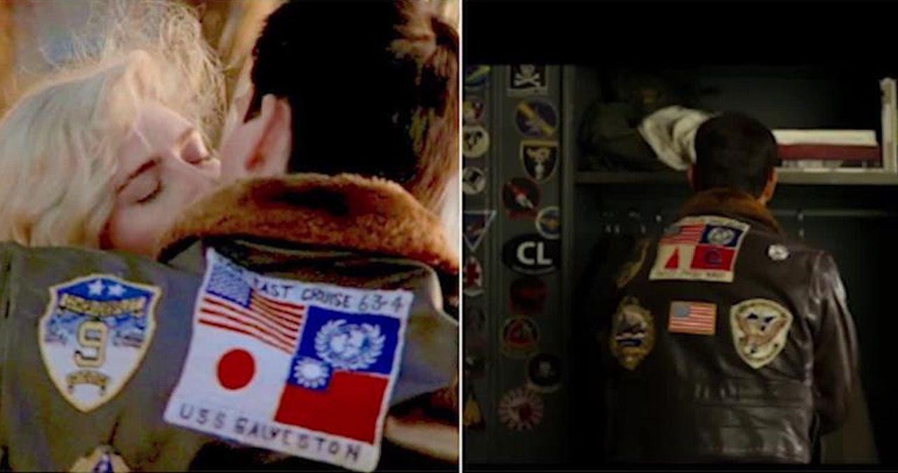 Taiwan och Japans flaggor utbytta i Top Gun: Maverick