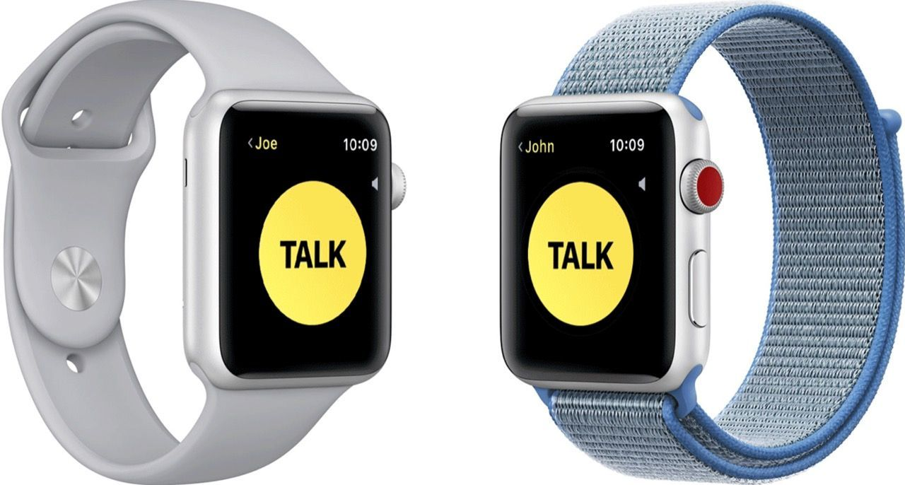 Apple har fixat Walkie Talkie-buggen i Apple Watch