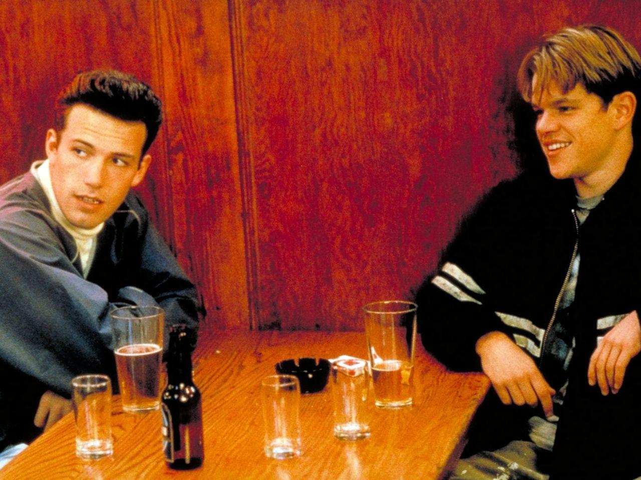 Matt Damon och Ben Affleck spelar in medeltidsfilm