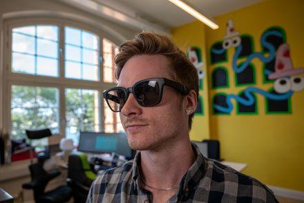 Högtalar glasögon ska hjälpa synskadade att navigera rätt