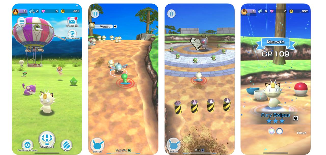 Pokémon Rumble Rush släppt till iOS