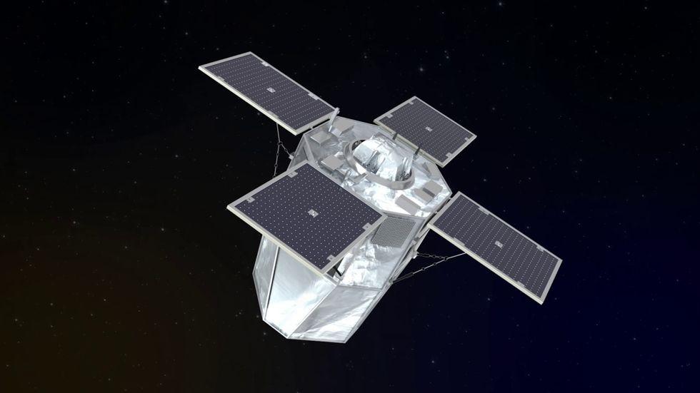 Frankrike ska utveckla laservapen för rymden