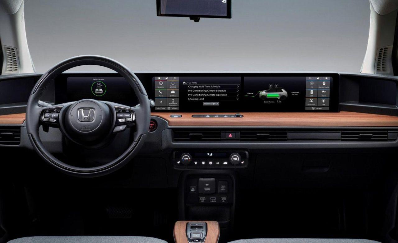 Så här funkar skärmarna i Honda e
