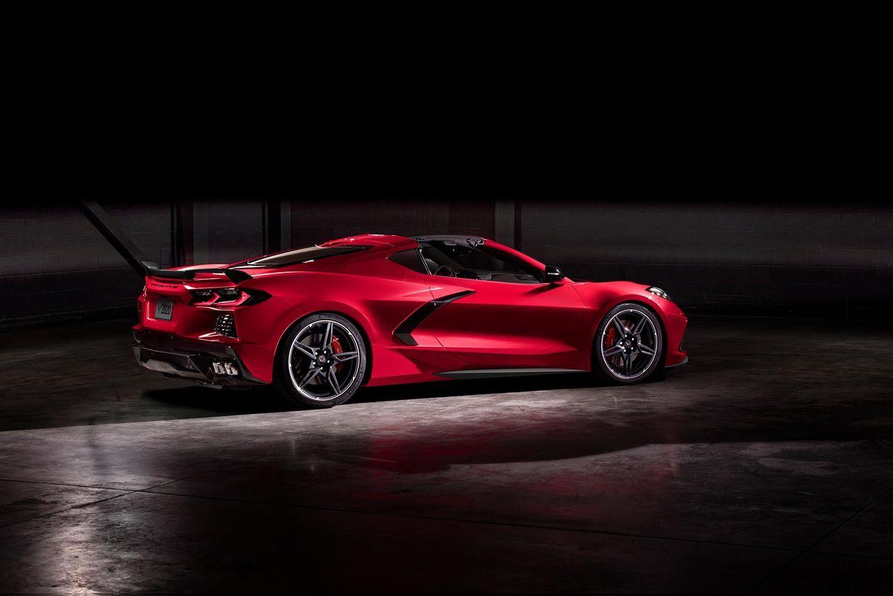 Nya Corvette C8 i princip utsåld