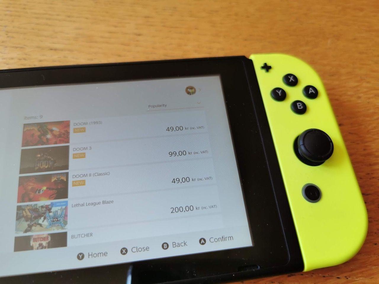 DOOM, DOOM II och DOOM 3 släppt till Switch, Xbox och PS4