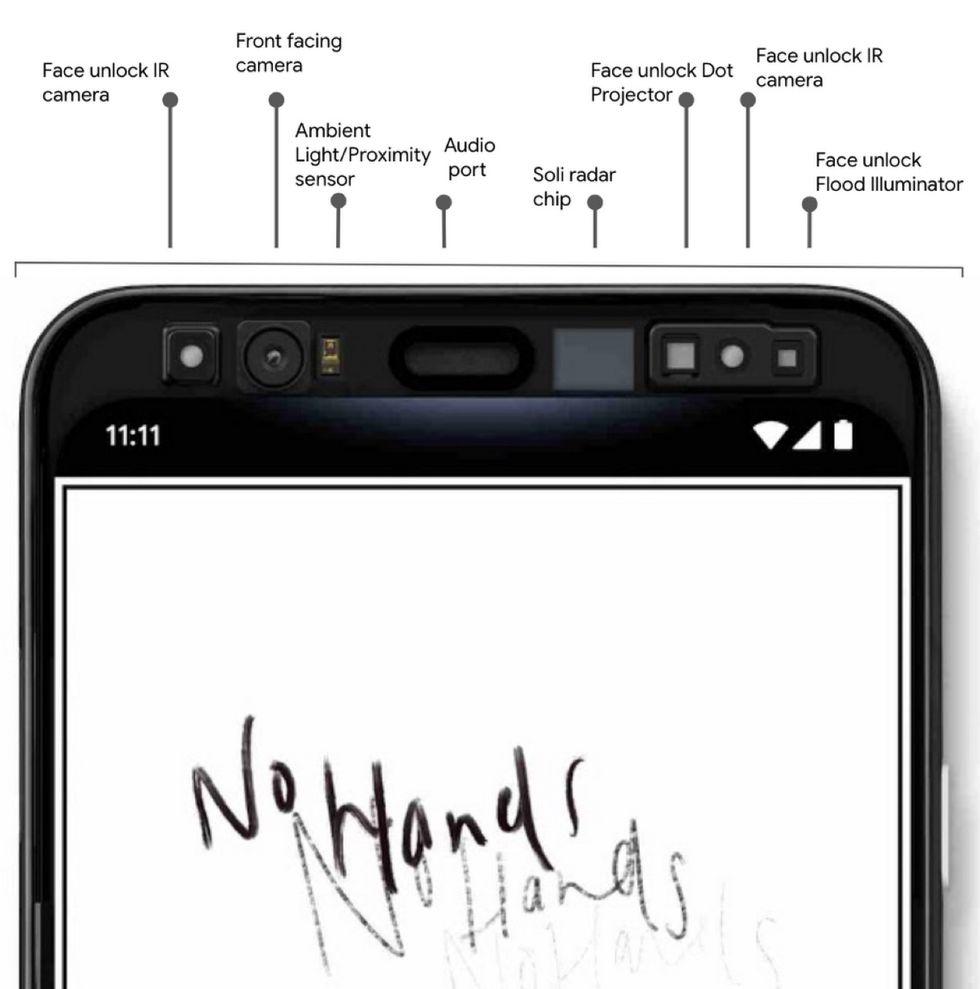 Pixel 4 får ansiktsupplåsning