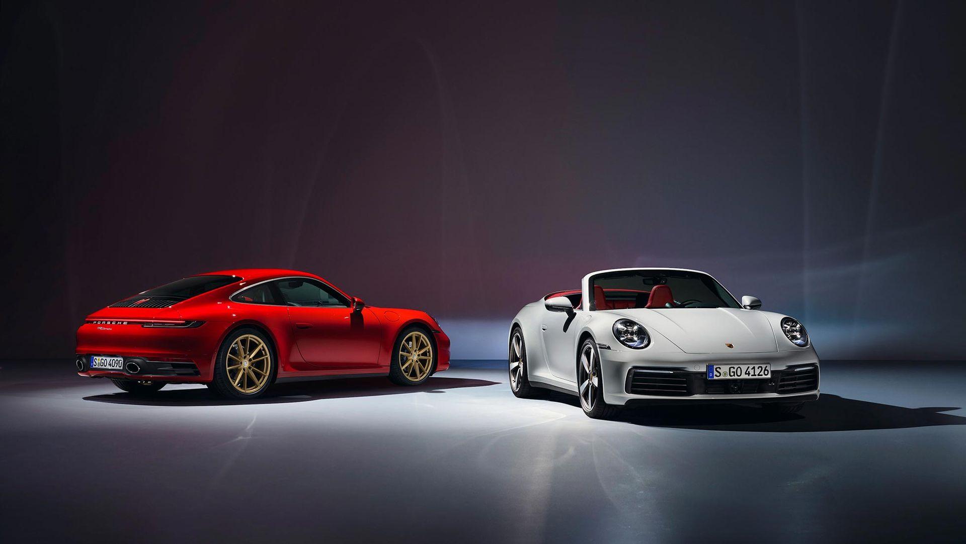 Porsche visar upp billigaste versionen av 911