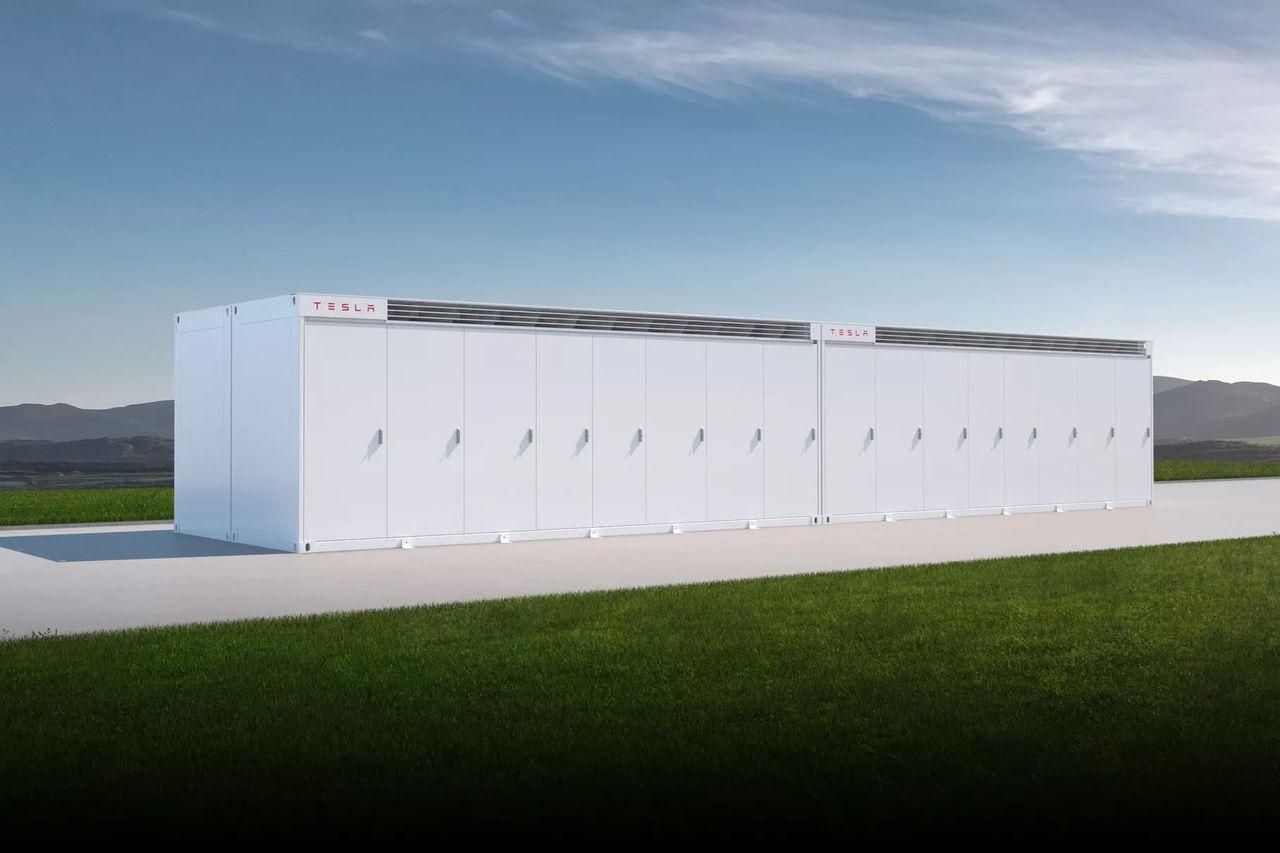Tesla lanserar batteriet Megapack