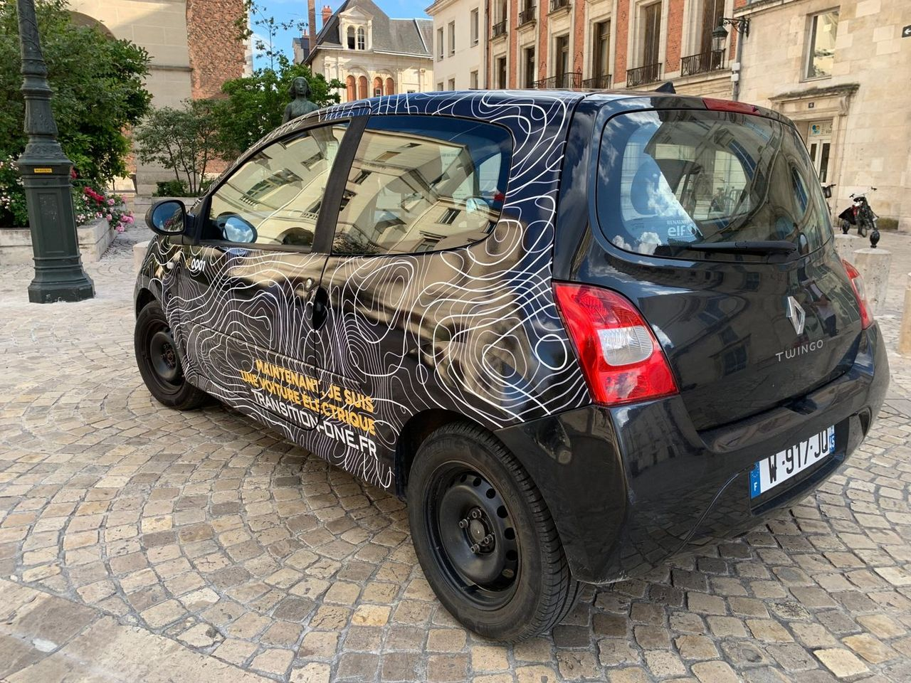 Transition-One gör fossildrivna bilar eldrivna