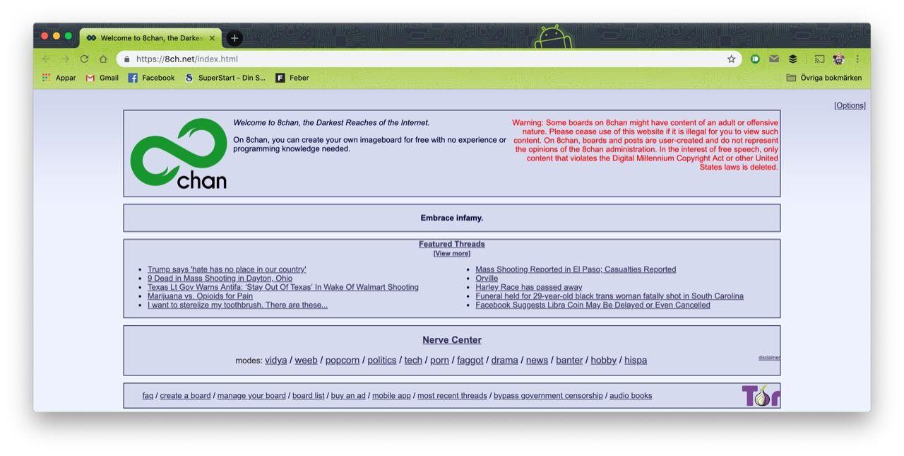 Cloudflare säger hejdå till 8chan