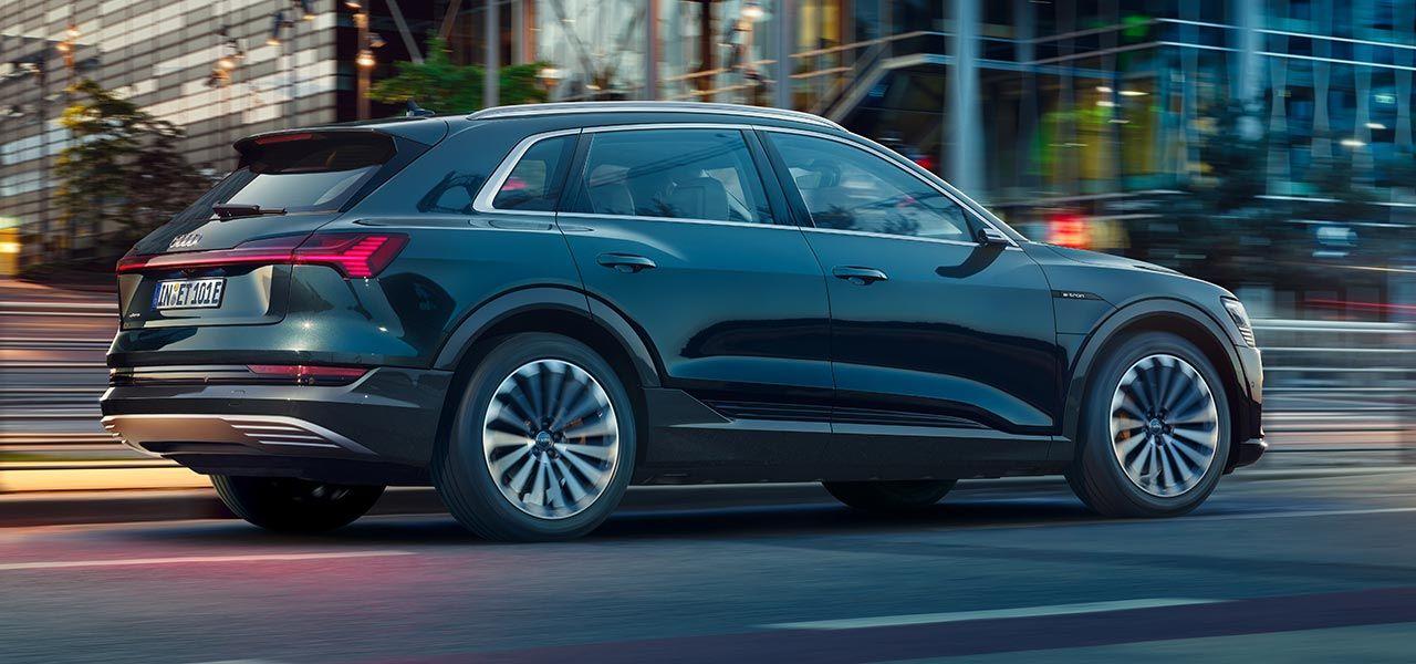 Bantad Audi e-tron är billigare och sämre