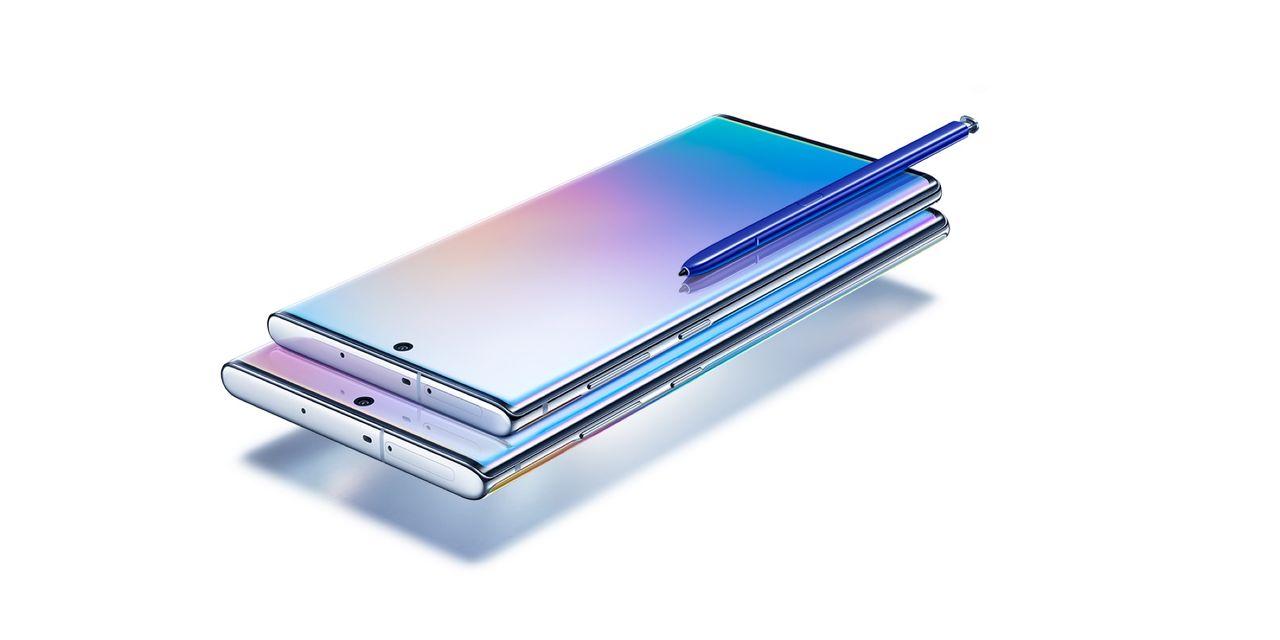 Samsung presenterar Galaxy Note 10 och Note 10+