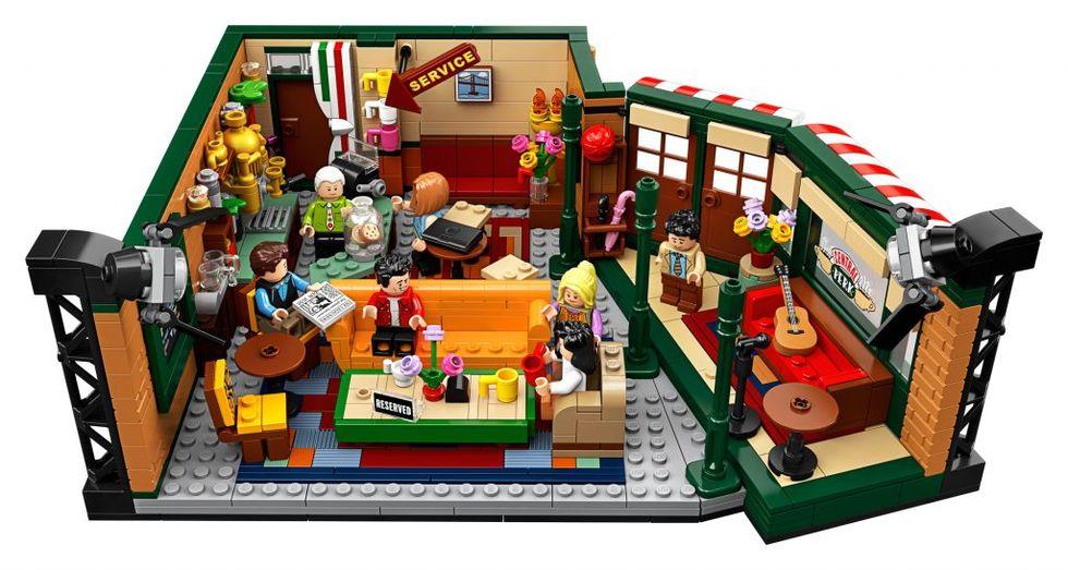 LEGO släpper Vänner-bygge