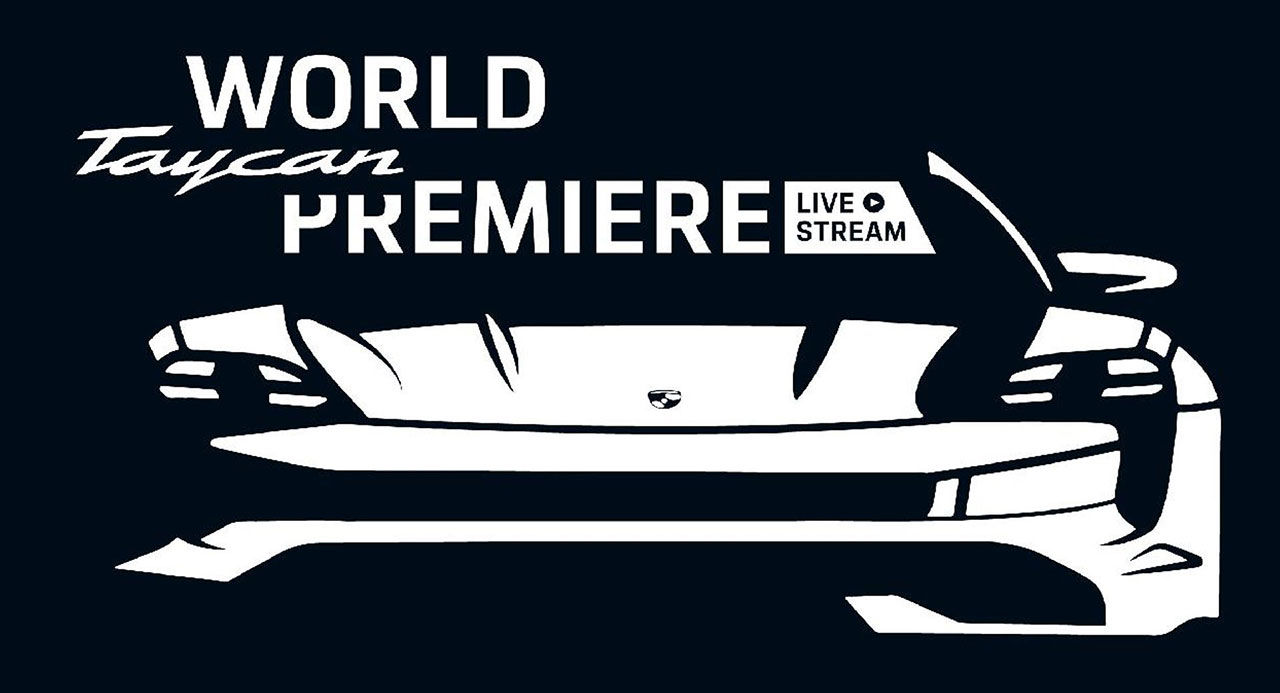Porsche Taycan presenteras den 4 september