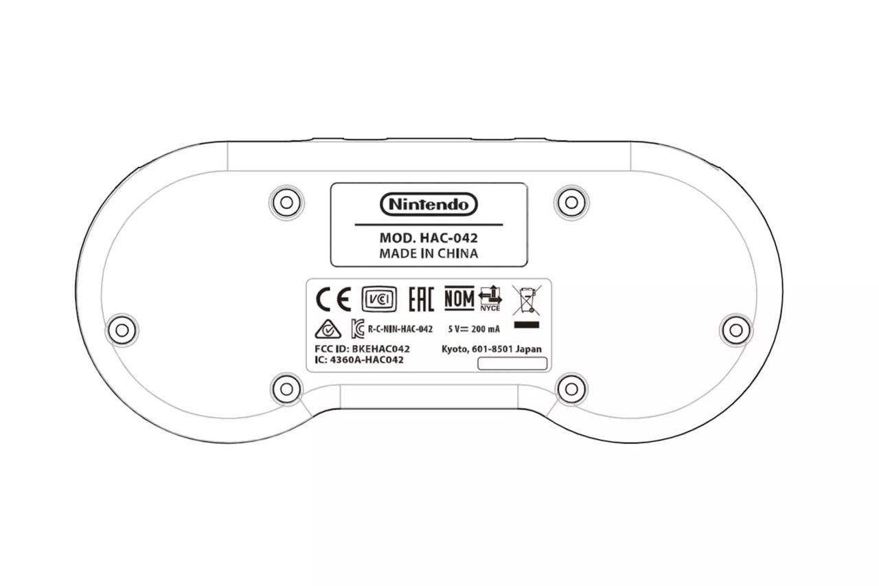 SNES-kontroller verkar vara på ingång till Nintendo Switch