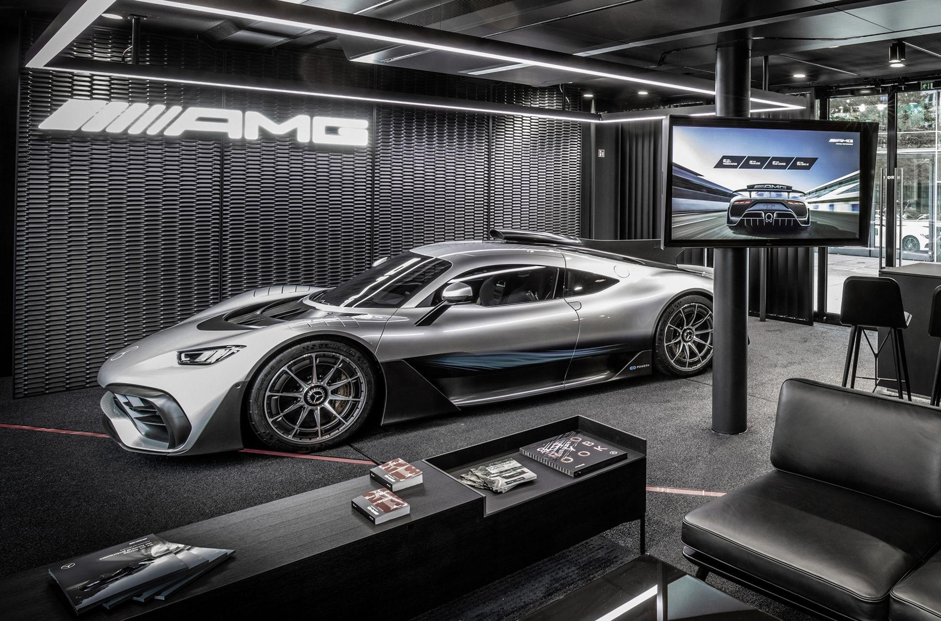 Mercedes-AMG One försenad till 2021