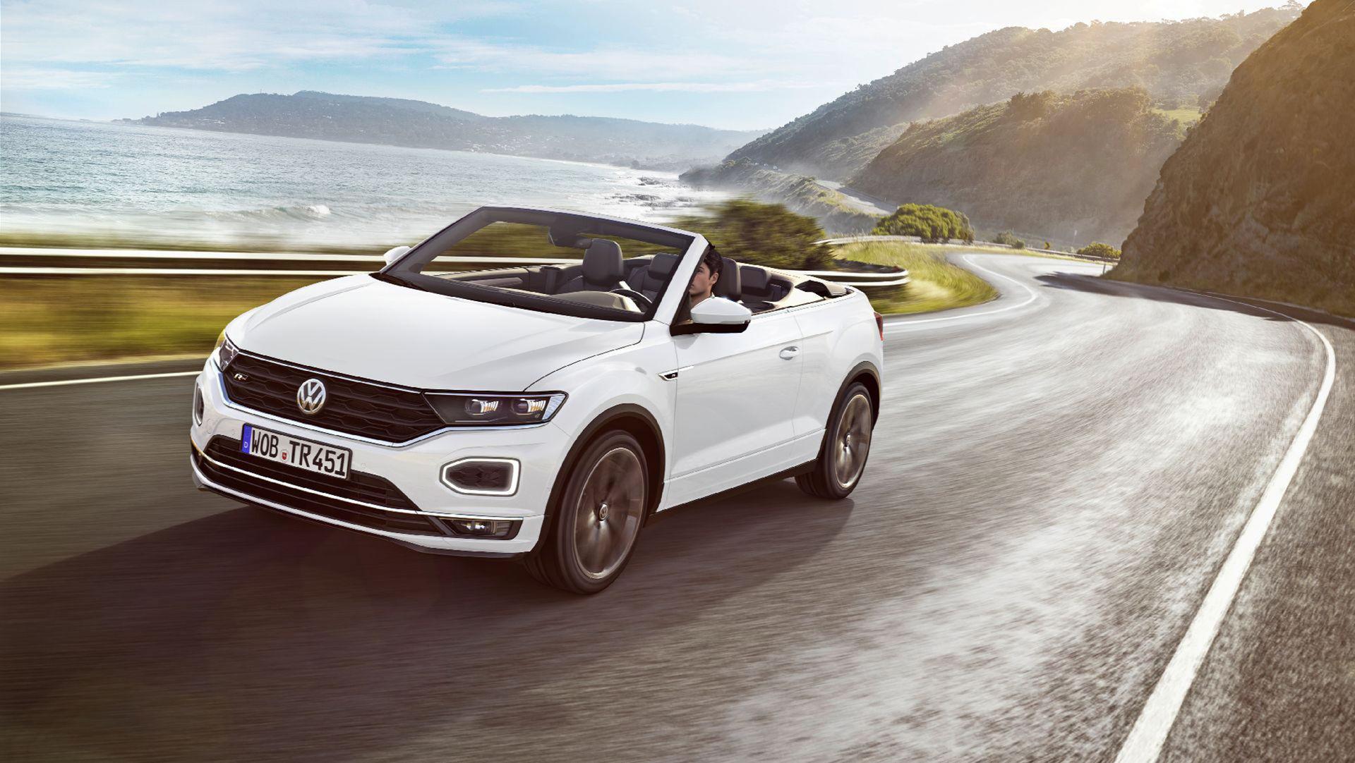 Volkswagen presenterar T-Roc Cabriolet