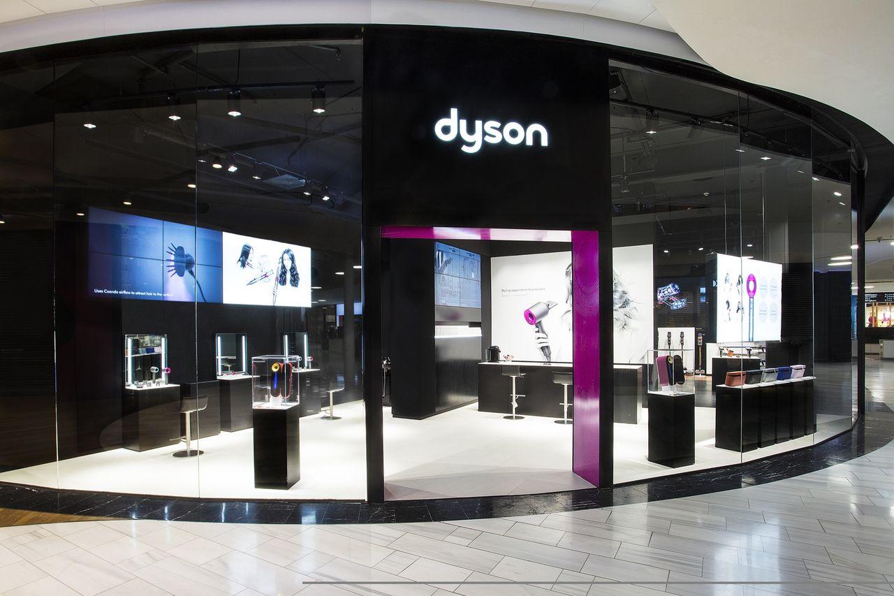 Dyson öppnar hårtorks-bar i Stockholm