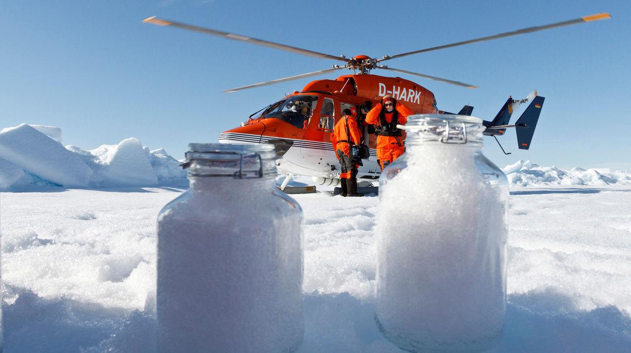Mikroplaster har tagit sig till Antarktis via luften