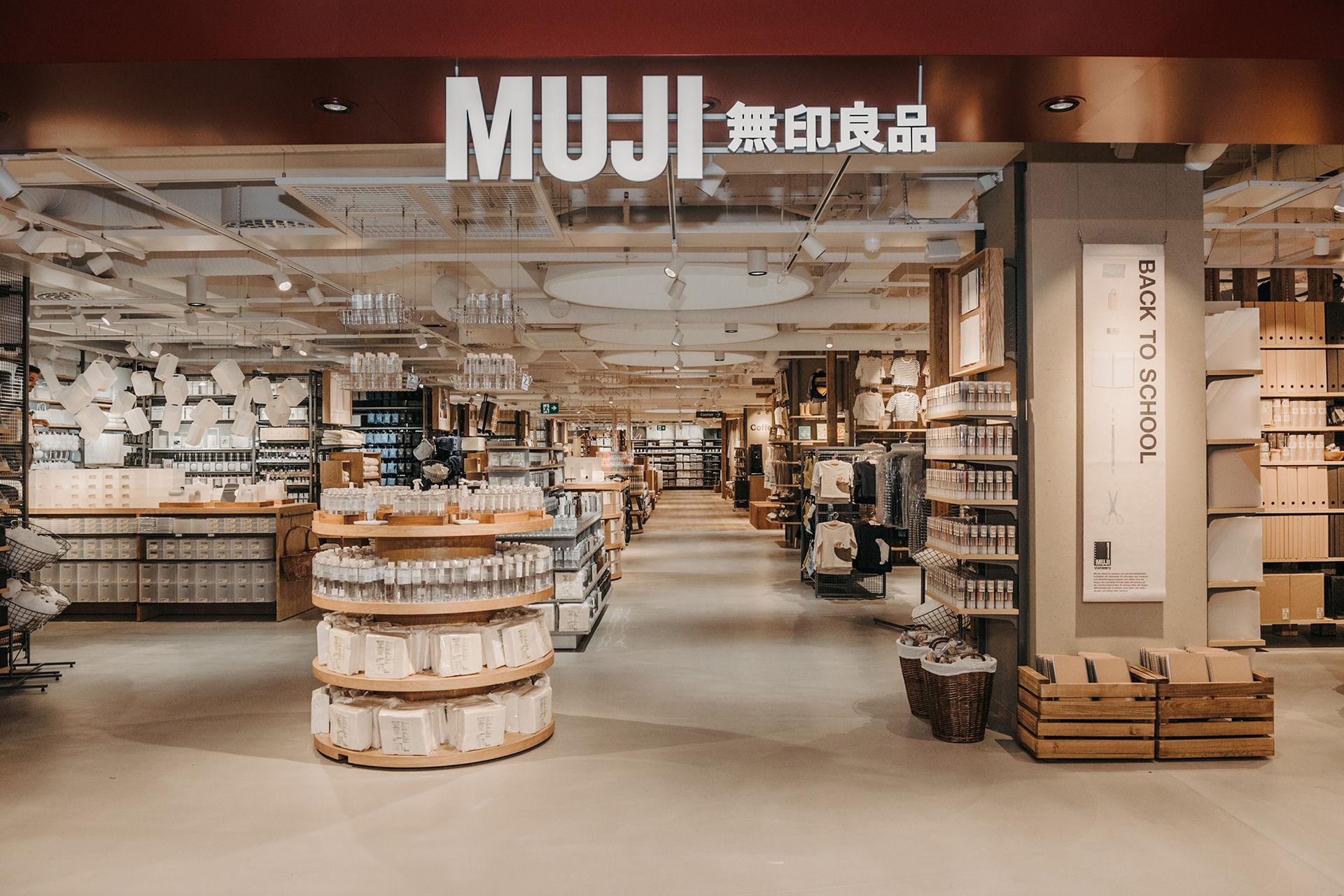 Imorgon öppnar Muji sin flaggskeppsbutik