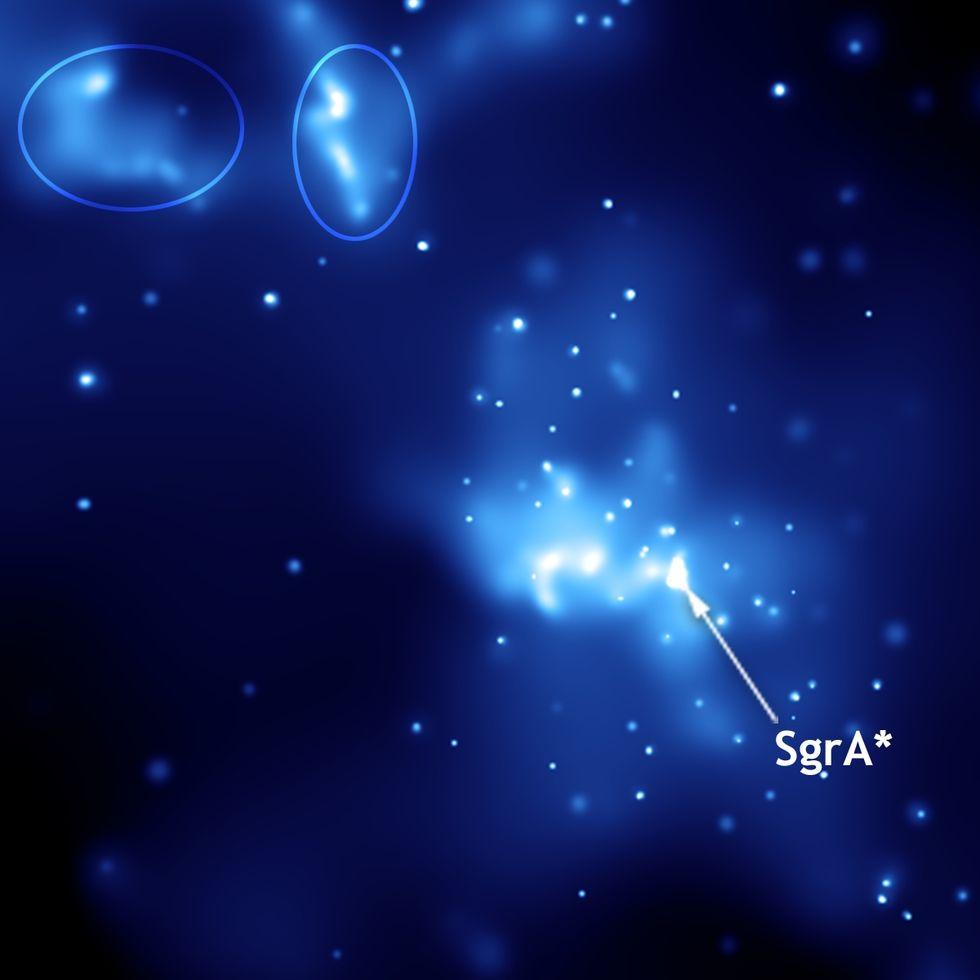 Sagittarius A* lyste upp ordentligt i maj