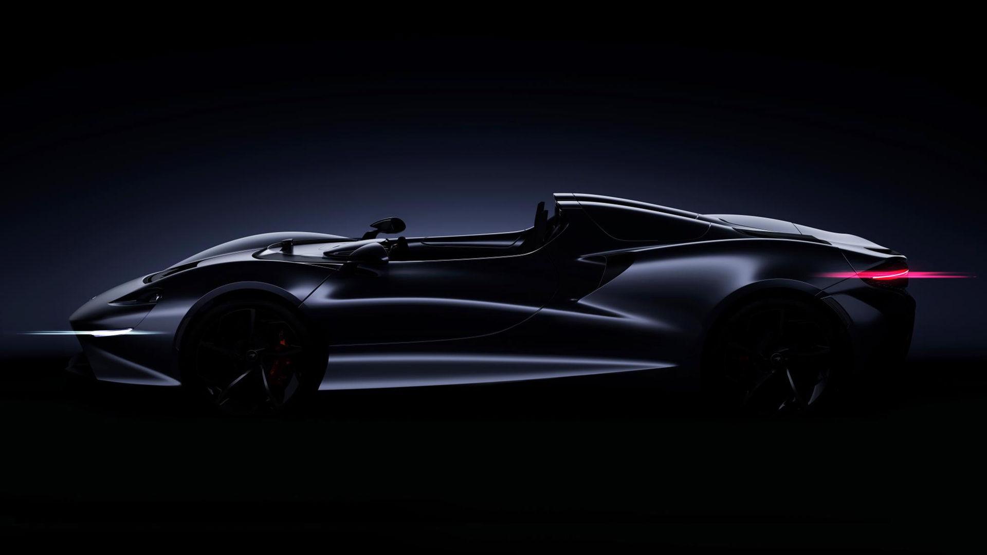 McLarens nästa medlem i Ultimate Series är en roadster