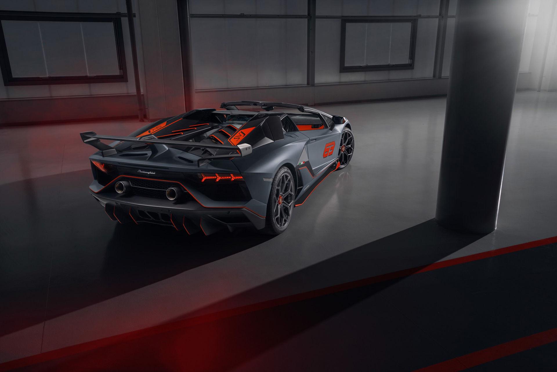 Lamborghini Aventador SVJ 63 nu även som cab